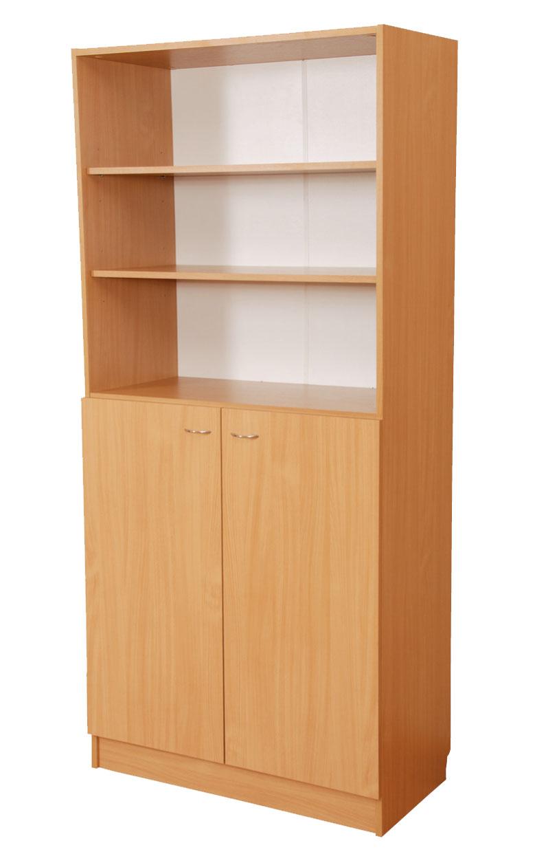 Шкаф комбинированный с открытым верхом c-028 копычинцы (гуся.