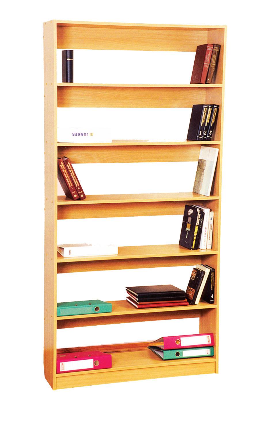 Стеллаж односторонний (луЧ) - стеллажи, школьная мебель.